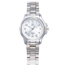 Womens Watches Luxury Elegant Ladies Stainless Steel Wrist Watch Female Clock Analog Quartz Round WristWatches Relogio Feminino cheap 20mm No waterproof Glass Bowake 40mm Bracelet Clasp Simple J0703 24cm None No package China Mainland Fashion luxury simplicity gentleman business Sports Cool Milita