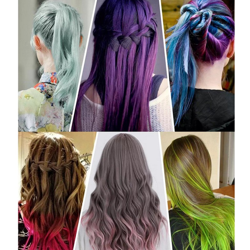 Joyous Hair Dye Color Diy Not Hurt Hair Easy To Clean Non