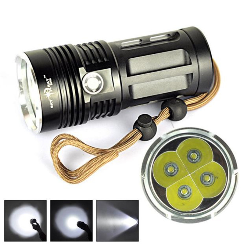 B2 High Power Bicycle Light 7000 LM 4T6 4x XM-L T6 LED Flashlight Torch Lamp 3 Modes Camping & Hiking Wholesales&Retails