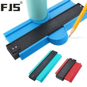 Image 1 - 5/10 Inch Contour Gauge Plastic Profile Copy Gauge  Profile Jig Guide Marking For Tile Edge Shape Copy Measuring Tool