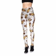 8854adc514ad3 Leggings New Arrival Halloween Christmas gift leggings Bee insect pattern  women's casual pants spring autumn pant