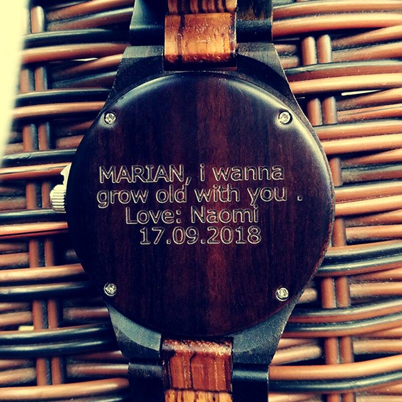 zebra-black-wooden-custom-photo-women-men-watch-male-clock-5