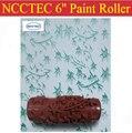 6 ''NCCTEC мягкий резиновый декоратор ролик Бесплатная доставка | 150 мм стены краски роликовые инструменты