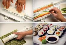 DIY Easy Sushi Maker Tool Roll Meat Vegetables Bazooka Rice Mould DIY Sushis Mold Tube Roller