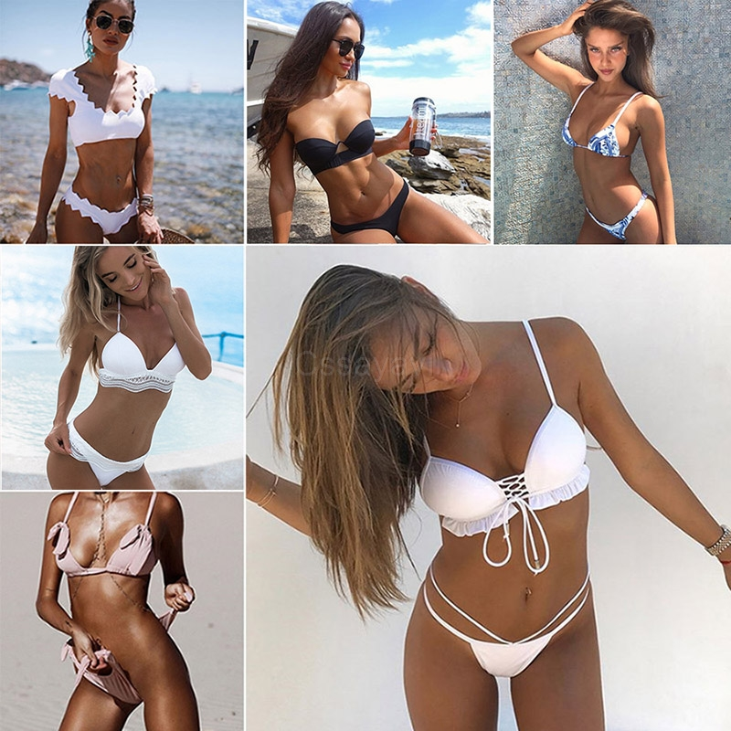 Hot Sexy Brazilian Bikini 2017 Swimwear Women Swimsuit Bathing Suit Biquini Bikini Set Bandage Swim Suit