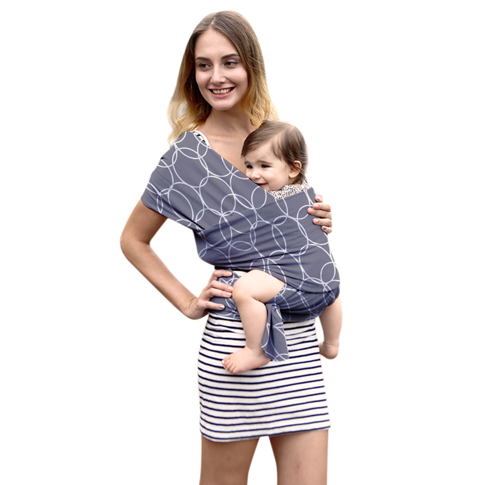 Impression de mode Confortable De Mode Infantile Sling Doux Naturel Wrap  Baby Carrier Sac À Dos 262ed57f8a0