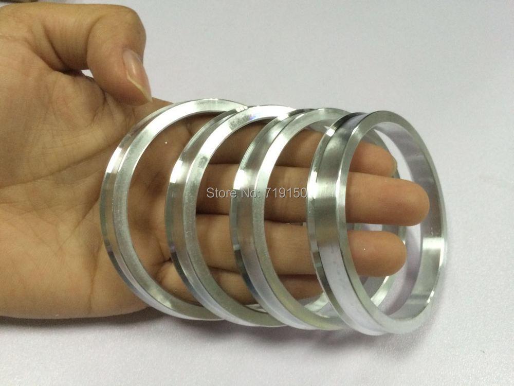 4pieces/lots Wheel Hub Centric Rings OD=73.1 mm ID=67.1 mm - Aluminium Alloy Wheel hub rings for Car VW/AUDI Free Shipping