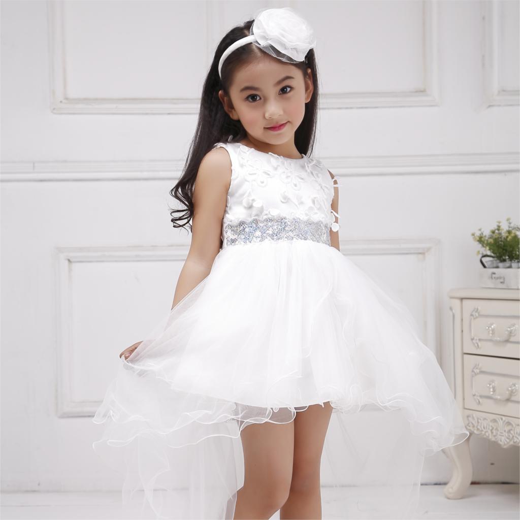 Azel 4-12T petrecere pentru copii purta Front scurt lung înapoi - Haine copii - Fotografie 2