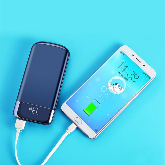 Power Bank 30000mah External Battery PoverBank 2 USB LED Powerbank Portable Mobile phone Charger for Xiaomi MI iphone Xs