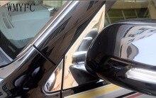 Front Window Triangle Cover trim sticker Car Exterior For Toyota Prado 2010- 2017 Land Cruiser 2008- 2017 former triangle