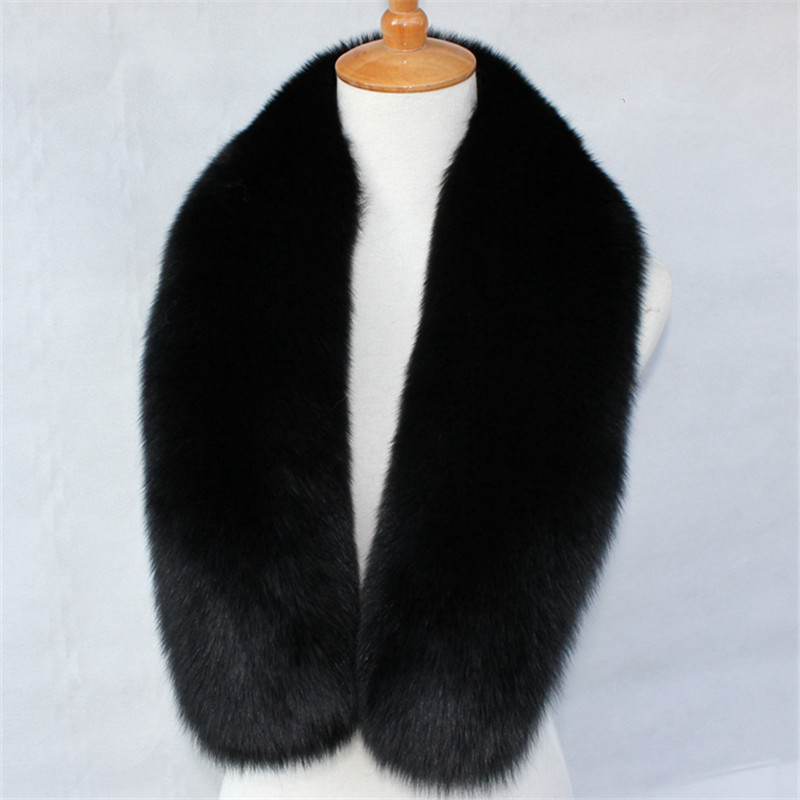100% genuine fox fur shawl imported fox fur scarf collar original color wool collar super collar