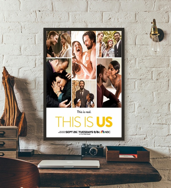 This Is Us Poster Tv Series Art Print Wall Art Wall Decor Silk
