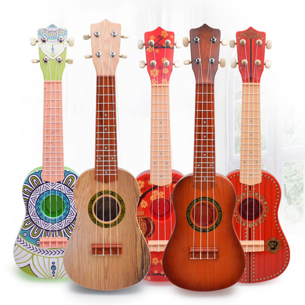 Ukulele Creative ABS New Year Gift Small Guitar Toy Environmental Protection 18*7*57.5CM Child Mini Musical Instruments