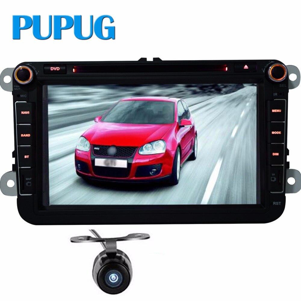 Car DVD GPS Navigation Player For car styling vw golf 6 Volkswagen/Passat/POLO/GOLF/JETTA/EOS/USB GPS IPOD FM Free 8GB GPS Map