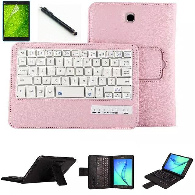 Роскошь в Исходном Bluetooth Крышка Аргументы За Клавиатуры Samsung Galaxy Tab A 9.7 T550 T555 T810 T815 Мода Bluetooth Клавиатура крышка