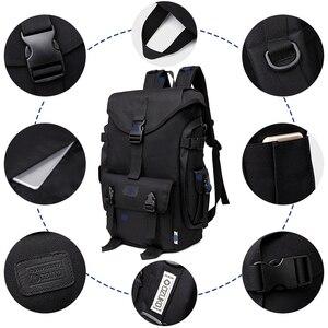 Image 3 - OZUKO marka moda duża pojemność Oxford mężczyźni plecak 2019 nowy tornister mężczyzna podróży plecaki 15.6 cal torby na Laptop chłopiec Mochila