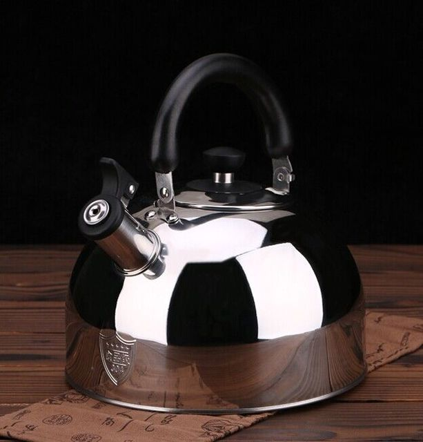 HOT Water Kettles Outdoor Camp Picnic Cookware Teapot Stainless Steel Kettle Coffee Pot Best Price Kitchen Camping Stove