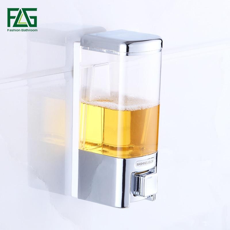 FLG Seifenspender Single & Seifenspender Wand küche Bad Flasche Kunststoff Pumpspender