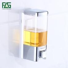 FLG Liquid Soap Dispenser Single & Double Wall kitchen Bathroom Bottle Plastic Pump Dispensers