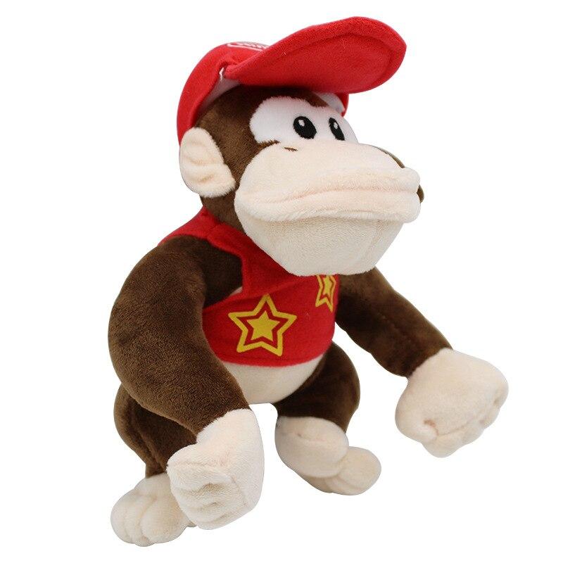 1pcs 20cm Kawaii Super Mario Bros Toy Plush Donkey Kong Animals Soft Stuffed Doll Christmas Gift For Kids