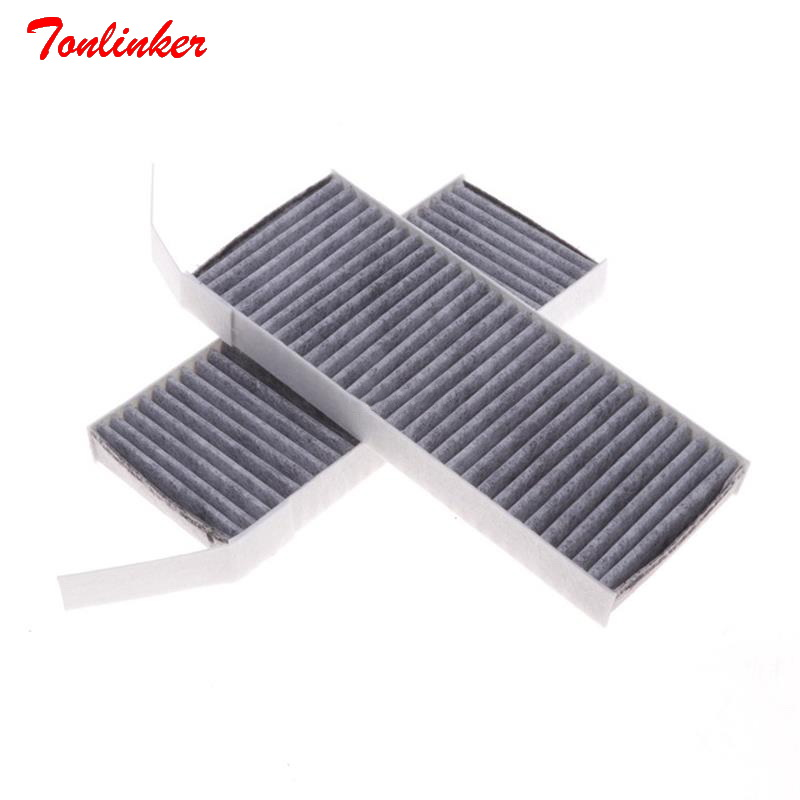 Image 2 - Tonlinker Car Cabin Air Filter Fit For Renault LATITUDE L70 2.0L 2.5L Lagunna 2.0T Model 2010 2017 2018 Filter Core 272774653R-in Cabin Filter from Automobiles & Motorcycles