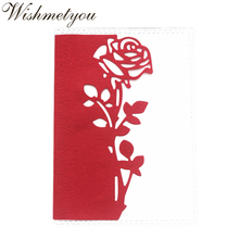 WISHMETYOU Metal Cutting Mold Rose Lace Cut Knife Scrap Booking Album Paper Card Handmade Bookmark Crafts Decoration Dies