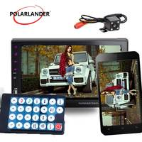 MP4 MP5 Player Touch Screen FM/TF/USB Mirror Link Bluetooth Support Rear View Camera 9 Languages 2DIN Radio For Android Phone