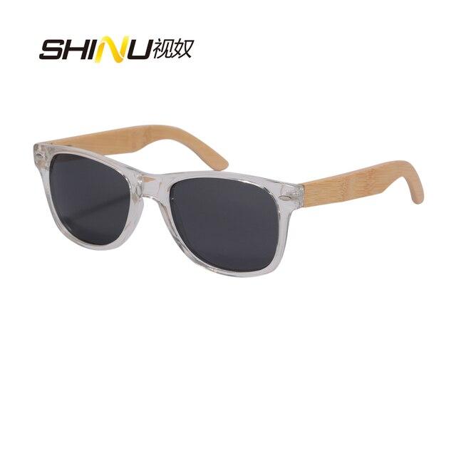 ef89e31f72534 Marca Óculos de Sol De madeira polarizada SHINU skatboard bambu óculos Moda  Espelho Coating Óculos Sombra