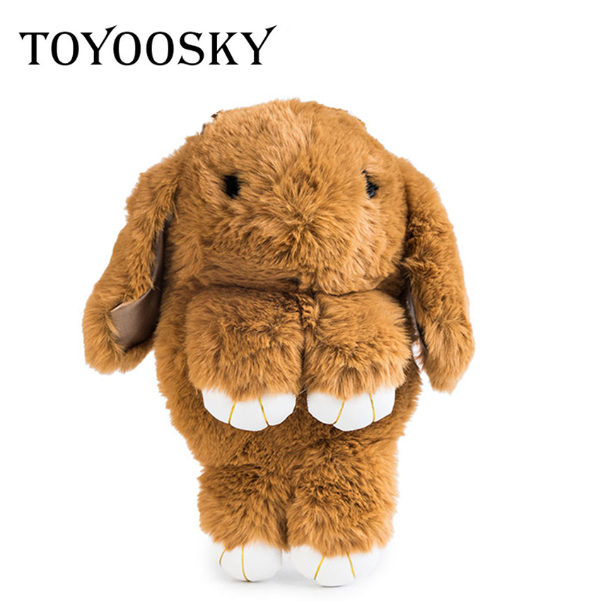 TOYOOSKY Lovely Bunny Crossbody Bags Winter Women Rabbit Fur Chain Shoulder Bag Multifunctional Bagpack Funny Girls Lolita Bags zhenbiao yang annual plant reviews intracellular signaling in plants isbn 9781444302394