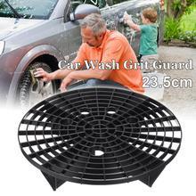 Cubeta para lavar autos, filtro protector de arena, protección para prevenir arañazos, 23,5 CM, arandela y mantenimiento de coche
