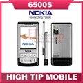 Desbloqueado nokia original 6500 s 6500 teléfono móvil slider con cámara 3.15mp bluetooth 3g bluetooth envío gratis reacondicionado