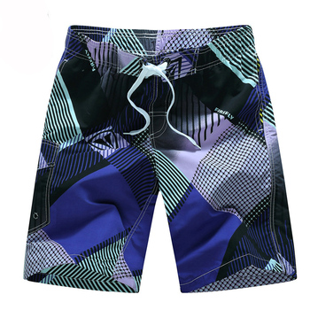Summer Style 2020 Men Shorts Beach Short Breathable Quick Dry Loose Casual Hawaii Printing Shorts Man Plus Size 6XL 10
