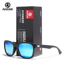 KDEAM Durable Light Polarized Sunglasses Outdoor Driving Eyewear Reflective Coating UV400 Sport Shades With Case KD921