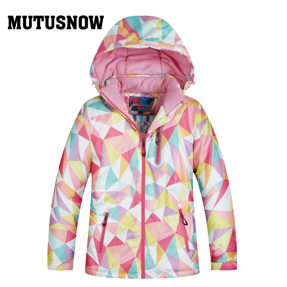 Boys And Girls Ski Jacket Kids Winter Brands High Quality Waterproof Breathable Thicken Warmth -30 Degrees Snowboard Snow Pants