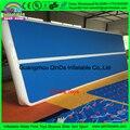 Esteira de ar inflável tumble track para ginástica do esporte da aptidão, aparelhos de treinamento de ginástica inflável esteira do assoalho
