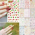 1 x Sheet Nail Art Decoration Acrylic Water Transfer Manicure Tips Decal Sticker beauty 12 Styles