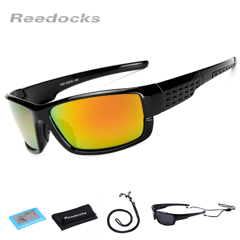 Reedocks New Sunglasses Men Polarized Sport Fishing Glasses Women Camping Hiking Goggles Driving Cycling Glasses Fishing Eyewear queshark uv400 polarized fishing sunglasses glasses cycling bike bicycle motorcycle driving hunting hiking sport fishing eyewear