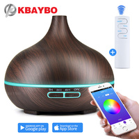 550ml Air Humidifier Essential Oil Diffuser Aroma Lamp Aromatherapy Electric Aroma Diffuser Mist Maker Smart APP Remote Control