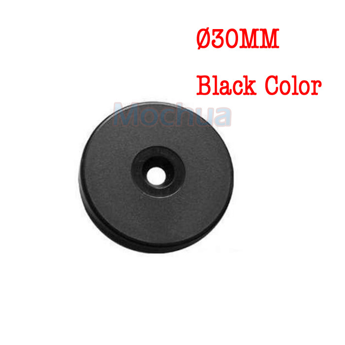 125Khz Rfid Tag EM4100 Disc Tag For Patrol System Black Checkpoint-10pcs/lot