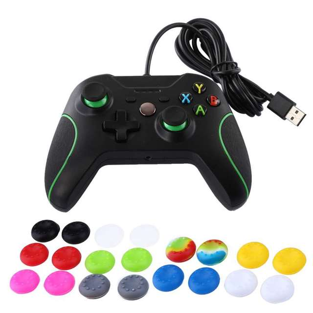 f6be28d7191 20Pc Rubber Silicone Analog Controller Thumb Stick Grips Cap Cover Gamepad Joystick  Thumbsticks Cap For PS2 PS3 PS4 Xbox One 360