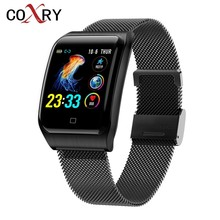COXRY Multiple Sport Smart Watch Men IOS IP68 Waterproof Heart Rate Smartwatch Blood Pressure Monitor Bluetooth Health Wristband