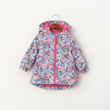 2016 New Spring female childen Sunscreen clothing girl's Spring jacket