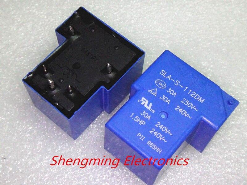 2pcs 5pins Sla-s-112dm T90 30a 250vac Relay