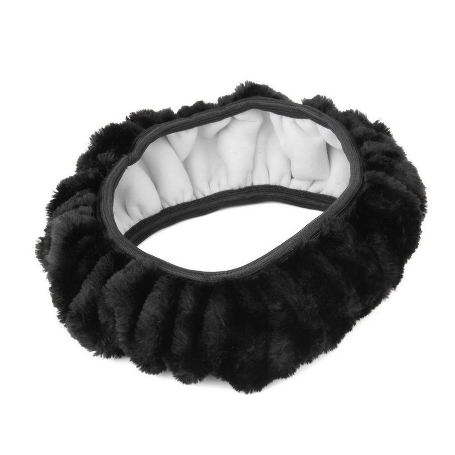 New Warm plush winter car steering wheel cover imitation wool Universal auto supplies car accessories hot selling