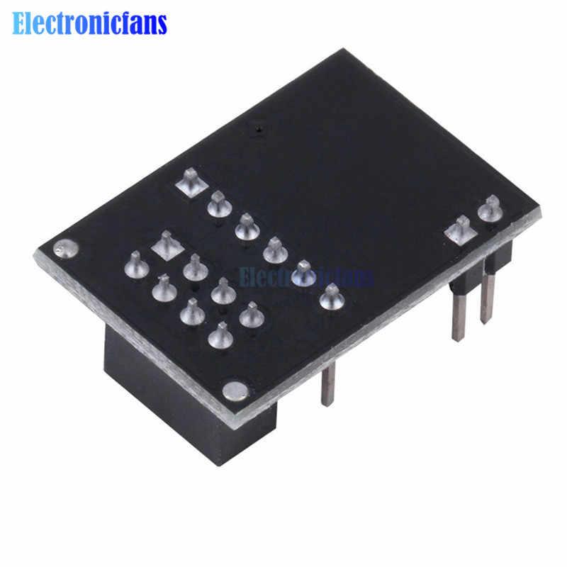 NRF24L01 + bezprzewodowa transmisja danych moduł transmitujący 2.4G/NRF24L01 upgrade wersja 2 Mbit/s NRF24L01 adapter gniazda płyta