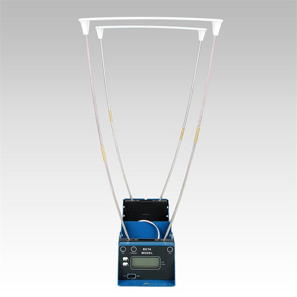 Affichage LCD mesure balle vitesse chasse au tir chronographe pliable testeur de vitesse velomètre compteur de vitesse avec deux capteurs - 2