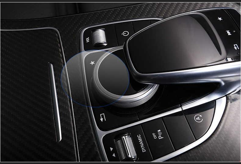 Автомобильный Стайлинг Автомобильная панель управления Мышь Ручка Защитная пленка-стикер для Mercedes Benz C/E/S/V/КЗС/GLE класса C W205 E Class W213