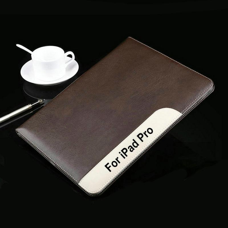 HQ Ultrathin luxury genuine Leather Case  For Apple ipad Pro case 12.9 Smart Cover wakeup/sleep cover All inclusive case+film пена монтажная mastertex all season 750 pro всесезонная