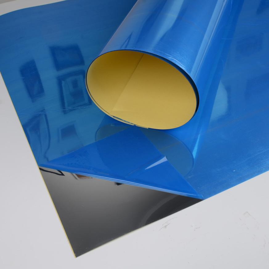 Зеркальная Настенная Наклейка прямоугольная самоклеящаяся наклейка для декора комнаты Наклейка на стену на искусство 4,17