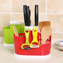 Multifunction Home Draining Rack For Cutlery Tableware Plastic Chopstick Spoon Fork Storage Holder Kitchen Accessories